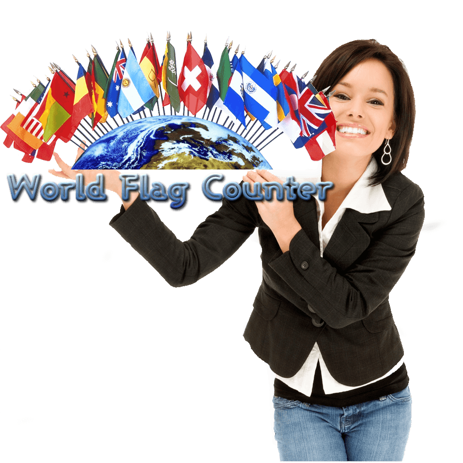 online user counter, world flag counter, free html code for your website